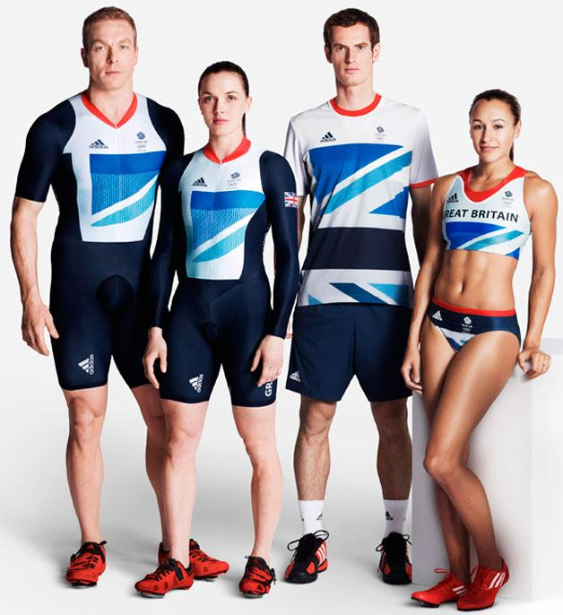 Adidas Team GB kit.