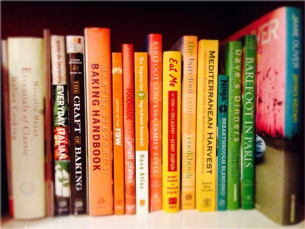 How To Create Your Food Library: Cookbook Organization 101