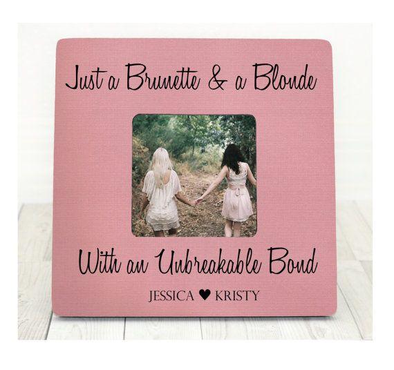 Brunette and A Blonde Best Friend Bond Picture by BrandonScottAD