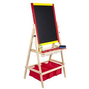 Whiteboard and Chalkboard Easel $30 OFFICEWORKS