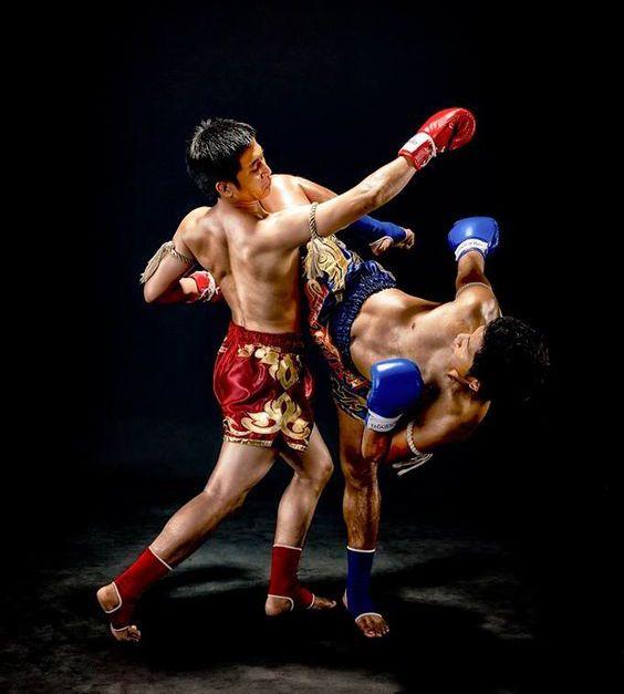 Боевой бокс в картинках