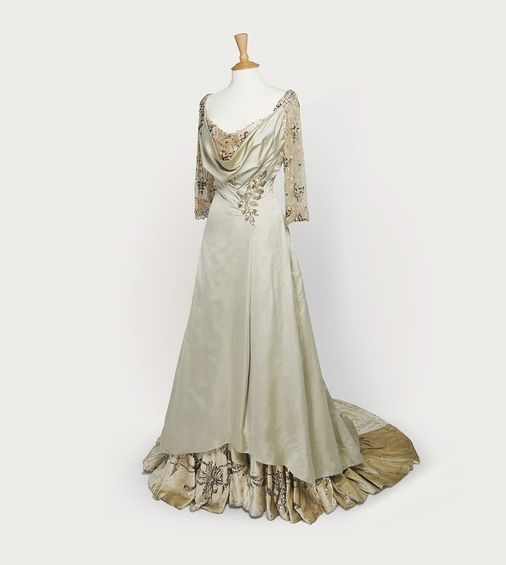 Early Edwardian Evening Gown