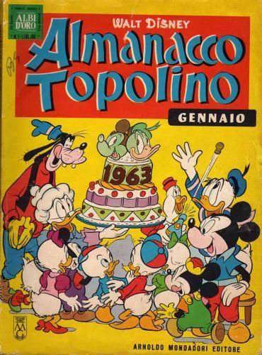 Almanacco Topolino 1963