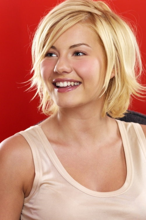 fun styles for short hair best 25 elisha cuthbert ideas on bob 3658 | 057ddf530d4396dd16c1695f99cdee9f hairstyles for thick hair fun hairstyles