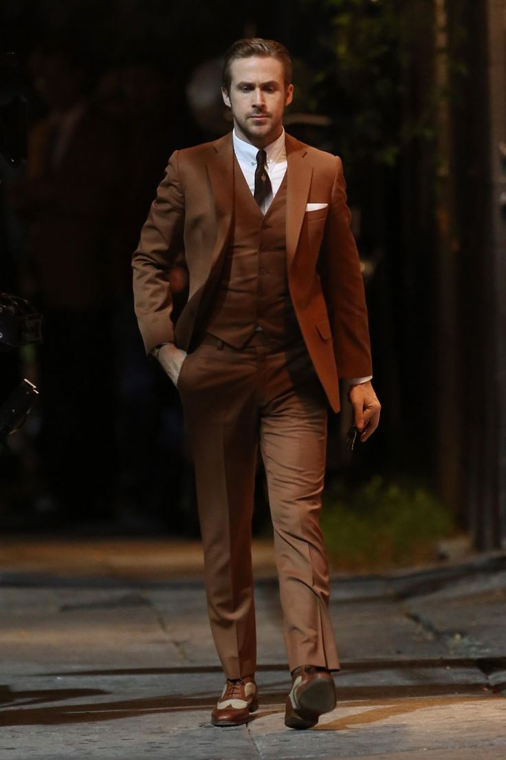 The 25  best Brown suits ideas on Pinterest | Suits, Mens suits ...