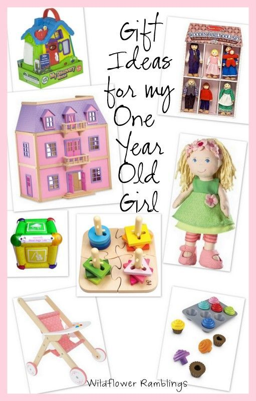 gift ideas for my 1 year old girl