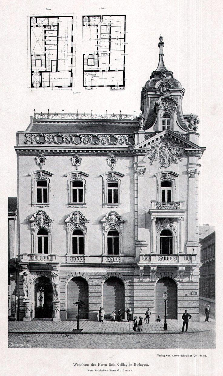 The Csillag Residence, Budapest
