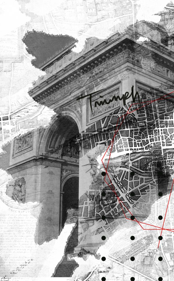 Cities by Rosco Flevo : In order to design for an environment, I believe it is important to fully understand said environment. This drawing is a good example of a study that attempts to understand Paris. Although all designers should be able to see like this, artist-architects are often now the only designers who can accomplish this type of work.