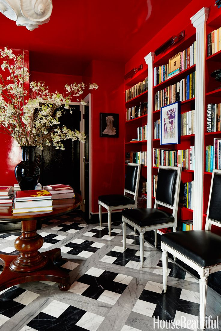 Red Rooms 276 Best Red Room Images On Pinterest  Red Red Rooms And Red