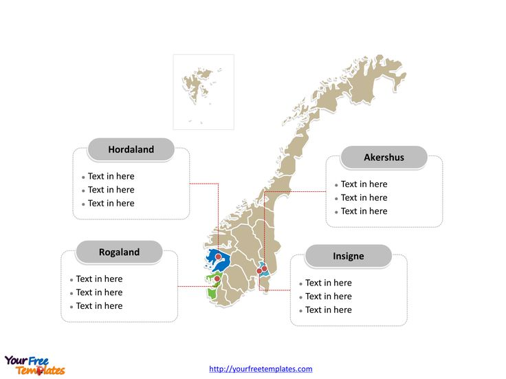 Best Europe Country Map Templates Images On Pinterest Maps - Norway map free download