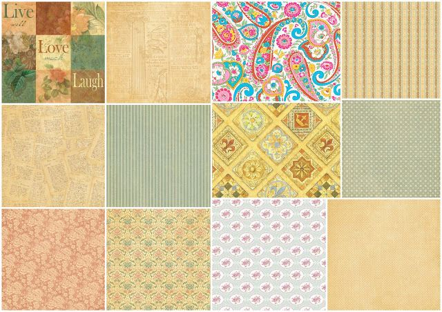 Retro Papers for Weddings or Anniversaries.