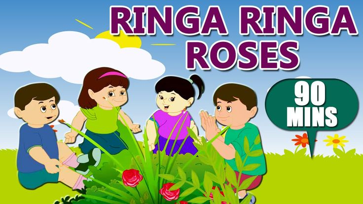 Ringa Ringa Roses | Nursery Rhymes | Rhymes For Kids | Poems For Childre...