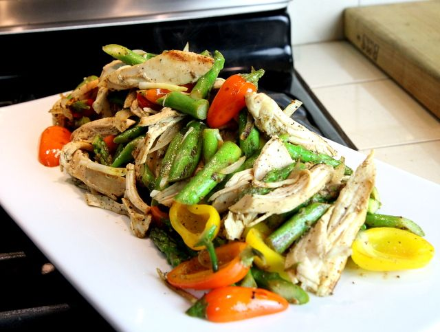 PALEO EXPRESS - Lemon Pepper Chicken with Asparagus - Paleo Nick