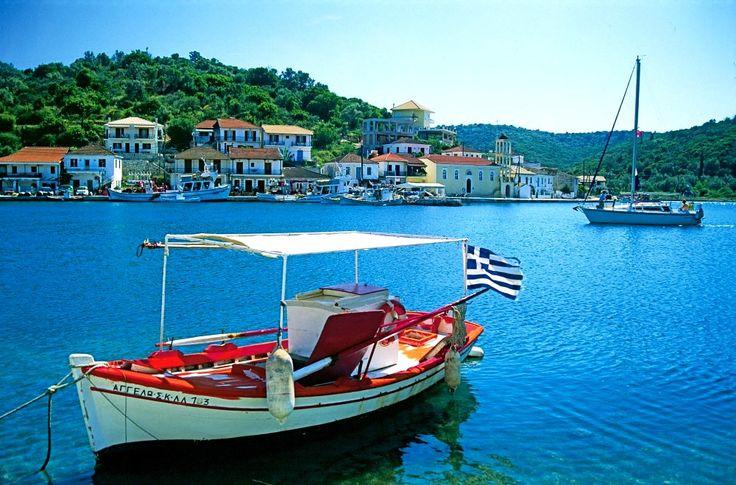 Meganissi, Greece - Ionian Flotilla Sailing