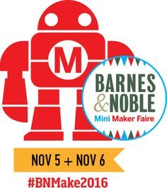 The Mini Maker Faire at Barnes & Noble brings together tech enthusiasts, crafters, educators, engineers, science club members, students, entrepreneurs, hobbyists and Makers of all kinds to learn from each other, get craft ideas and science fair project ideas, hear the experts, and work on projects. Sign up to join us and be a part of the second annual Barnes & Noble Mini Maker Faire in partnership with Maker Media, the creators of Make: Magazine and Maker Faire.