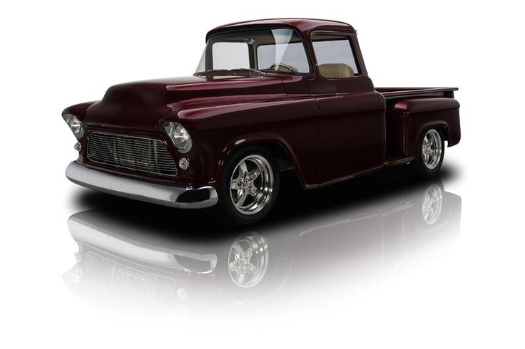 1955 Chevrolet 3100 Pickup Truck Burgundy Until I Can