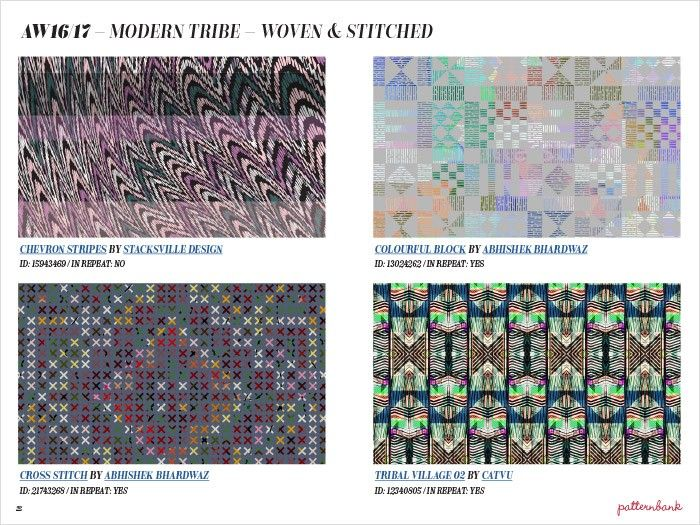 A/W 16/17 - Modern Tribe - Woven & Stitched