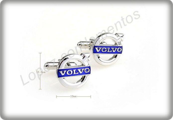 Gemelos para camisas logotipo Volvo