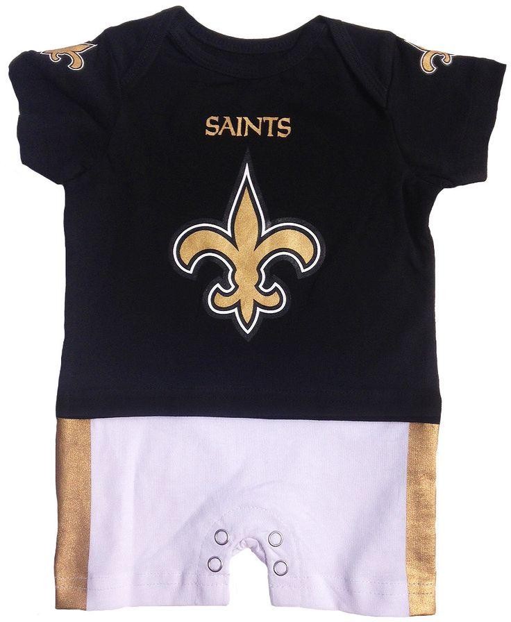 NFL New Orleans Saints Fan Jersey Romper