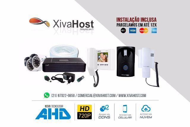 Instalação de Interfone, Video Porteiro, Alarme, Câmeras de Segurança (Cftv), PABX e Redes