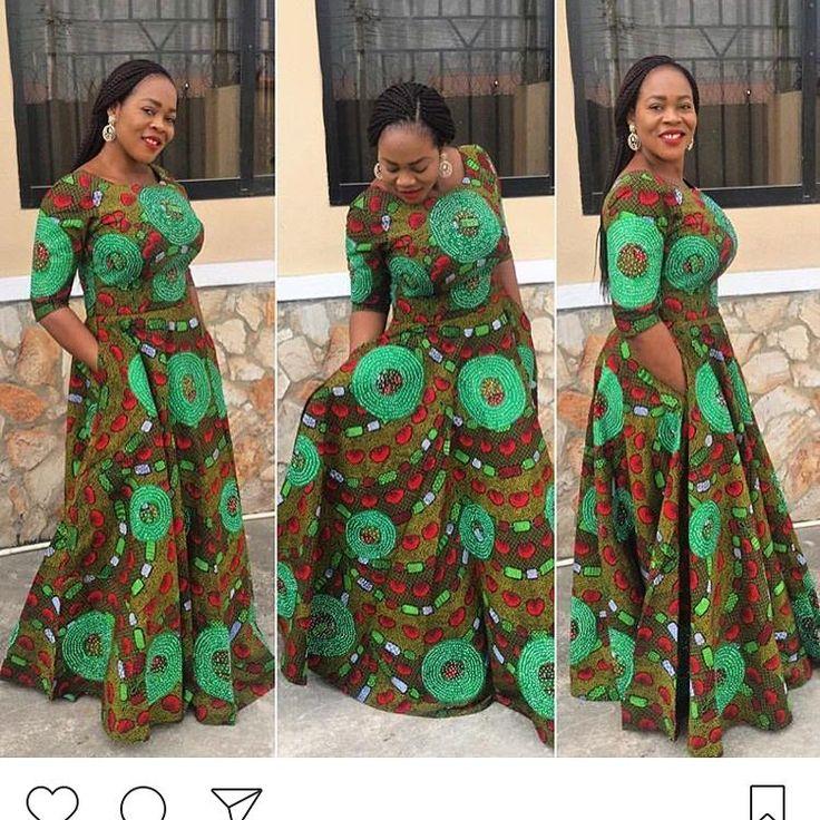 "315 Likes, 2 Comments - Ankara Collections (@ankaracollections) on Instagram: ""Lovely maxi Ankara dress #ankaracollections #ankarastyles"""
