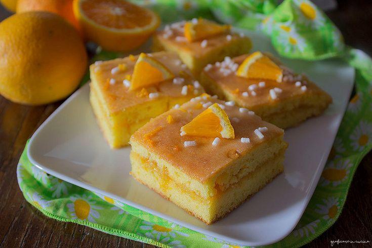Torta alle arance estive