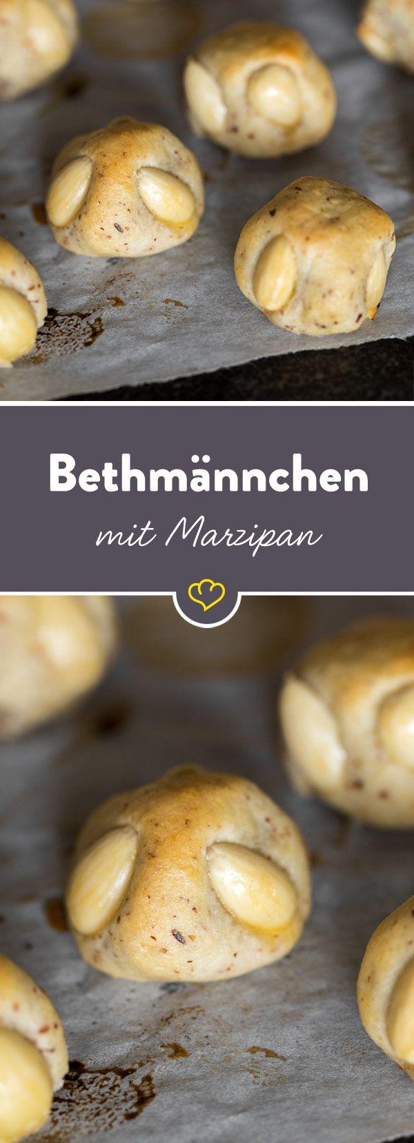 Bethmännchen - ein Muss für jeden Marzipanliebhaber. Innen weich und außen mürbe - Bethmännchen sind nicht nur in Frankfurt eine Institution.
