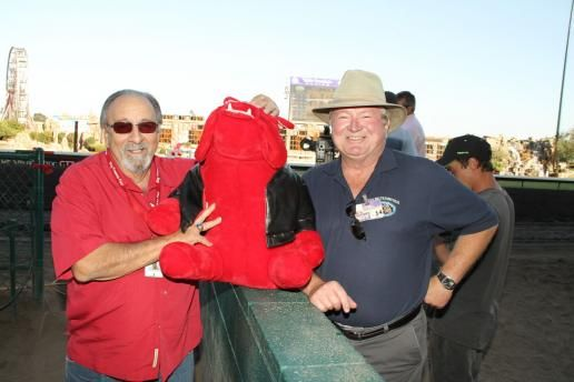 Wear red to the horse races tomorrow, 10/12/14, and be entered to win cash prizes during the Bulldog Stakes Race! Horse races begin at 12:15 pm! Come on down and celebrate the Fresno State Bulldogs!