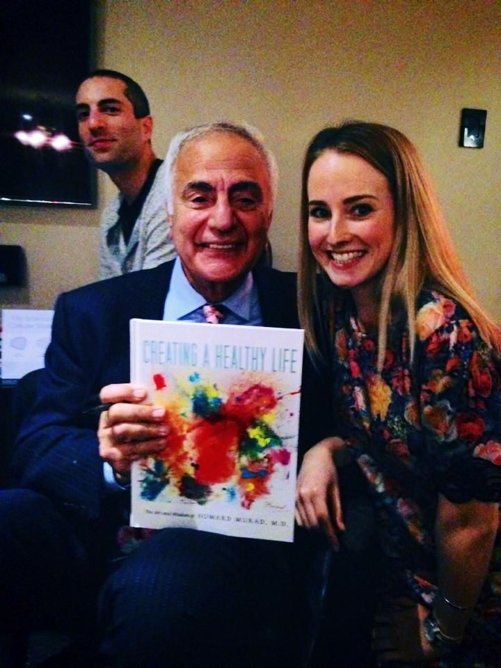 Ellie meets Dr Murad! such a lovely man and amazing experience #DrMurad
