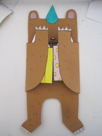 Du siehst mich nicht?! - bärenstarke Einladungskarte für die Kinderparty