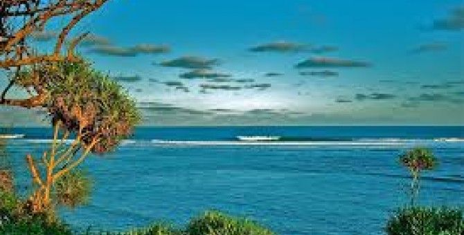 Losari  beach is beautyful