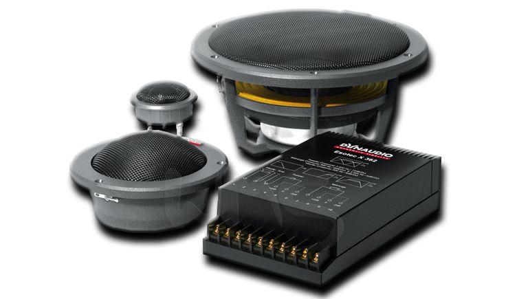 """Трехкомпонентная акустика именитого бренда Dynaudio Esotec System 342, 6,5"""" (16,5 см), 200 Вт."""