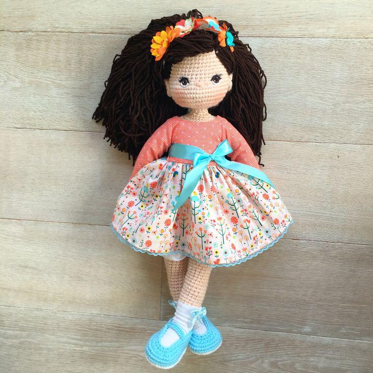Crochet Amigurumi doll Nathaliesweetstitches.com