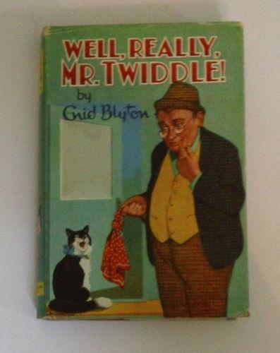 Vintage Enid Blyton book