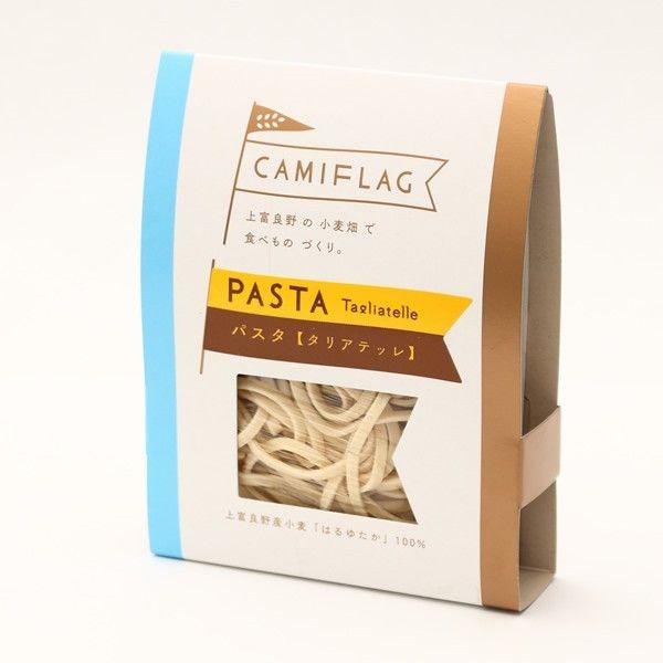 上富良野産小麦「はるゆたか」を100%使用した平打ちパスタです。タリアテッレは細麺タイプです■はるゆたか乾燥パスタ内容量 90g(1食分)包材込110g