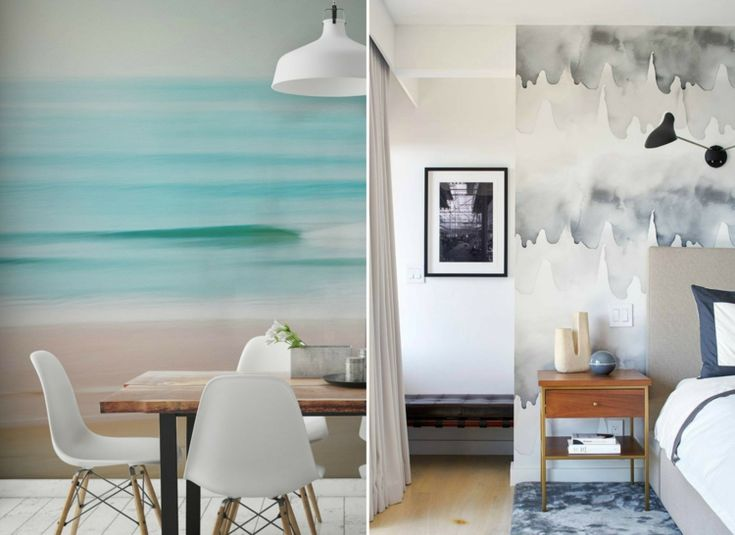 554 best Wandgestaltung images on Pinterest Wall design, Wall - designer tapeten einrichtung maskuline note