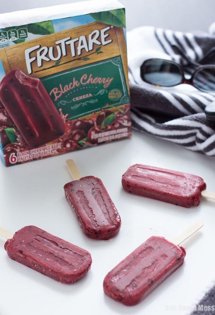 Frozen Fruit Bar Prosecco Floats