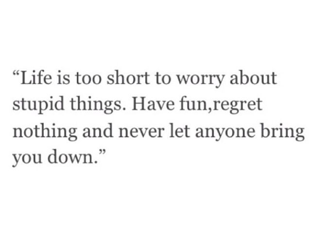 life is too short essay