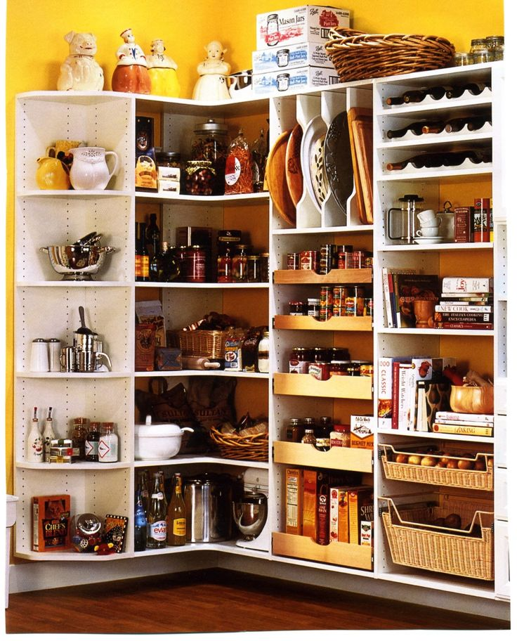 Kitchen Pantry Storage Solutions: Pantry Redesign Images On Pinterest