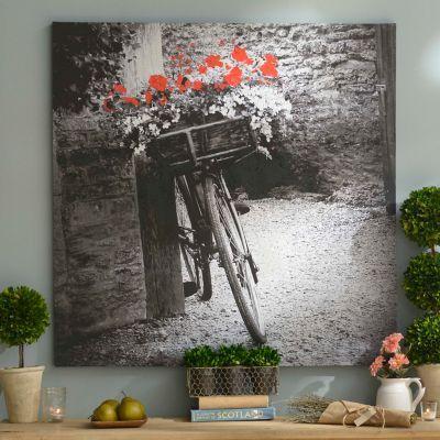 Vintage Bicycle Canvas Art Print | Kirklands