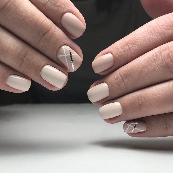 100 Stripes and Tape Nail Art Designs 2018 - Reny styles