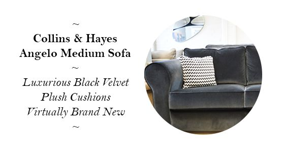 Collins and Hayes Angelo Medium Sofa - Reduced from £2,399 to only £1,799!