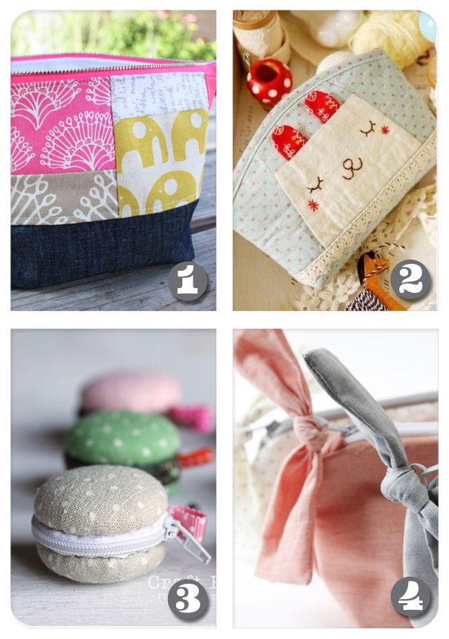 Macaron Coin Purse from Craft Passion