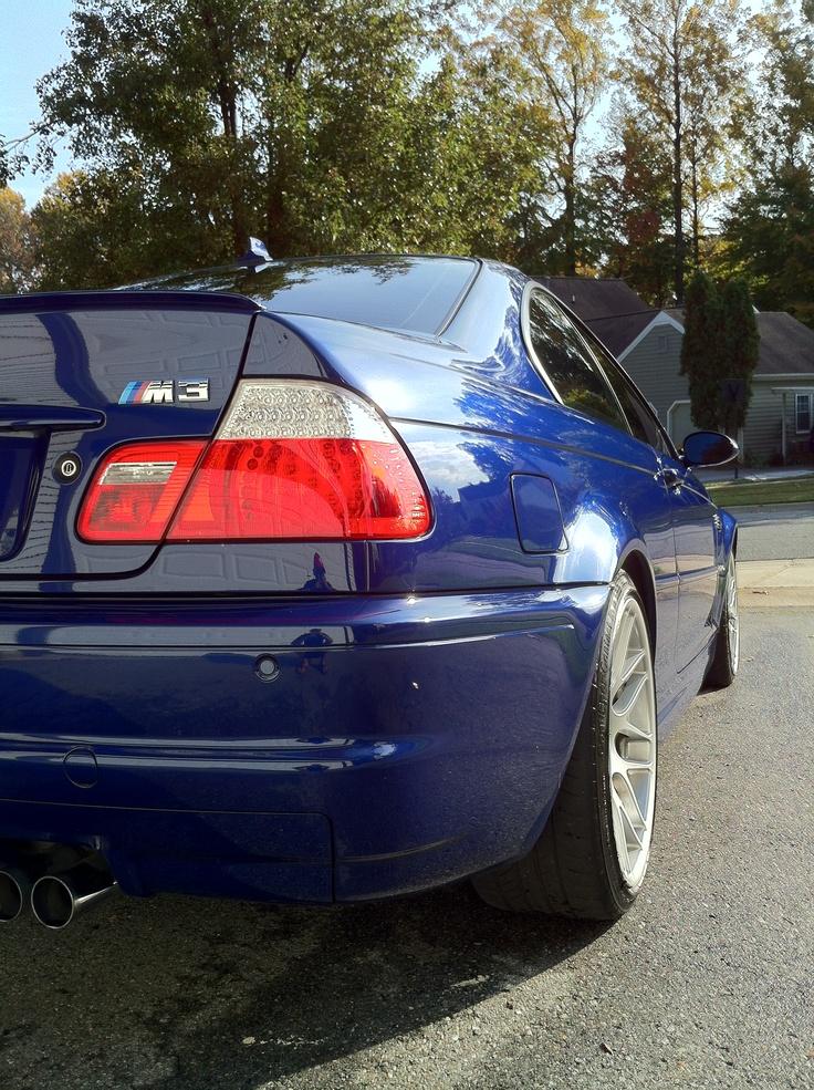 My car, 2006 BMW M3 ZCP Interlagos Blue.