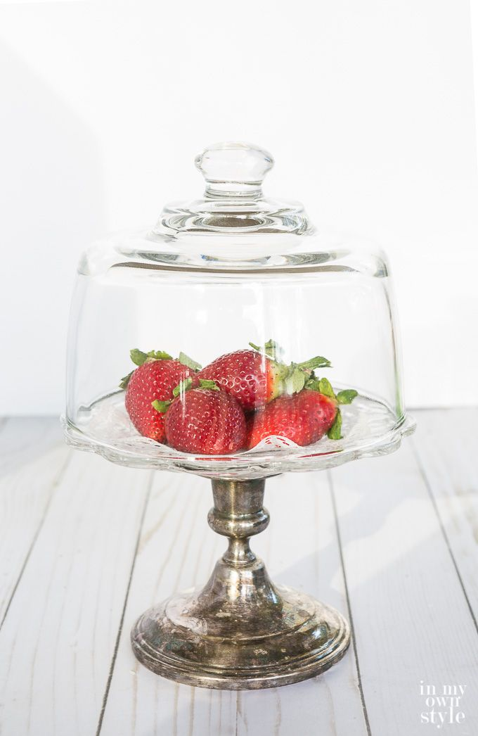 Cake and Pedestal stands to DIY. Repurpose items around your home or from the thrift shop to make them.