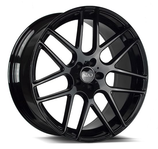 "22"" A006 Black Wheels Staggered Concave Rims For Mercedes Benz Audi #AudioCity"