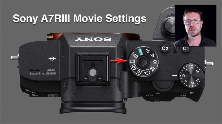 Sony Alpha A7RIII Custom Camera Settings for shooting Movies