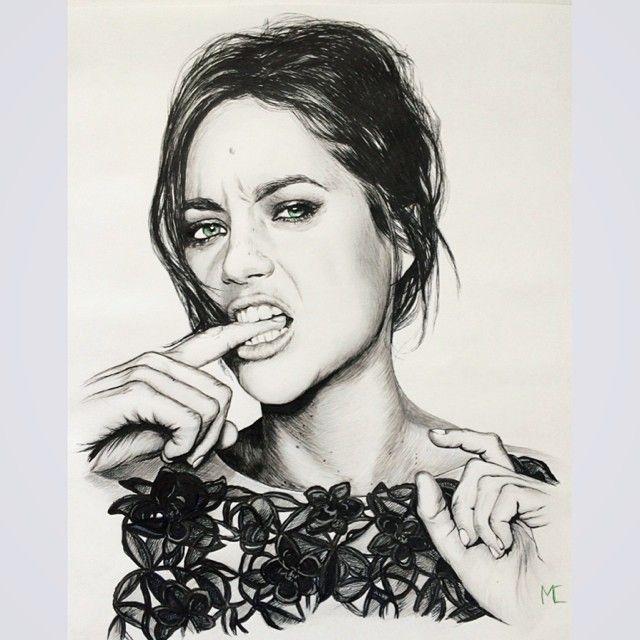 #sketch #picture #girl #fashion
