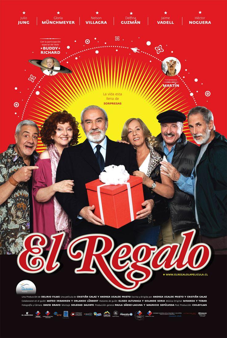 El Regalo [2008][Cine Chileno] Cheer, Movies, Movie Posters, Image, Movie Theater, Ecuador, Portal, Fitness, Bicycle Kick