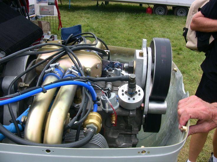 aircraft escapade powered  bush king vw aircraft engine conversion trike stuff light